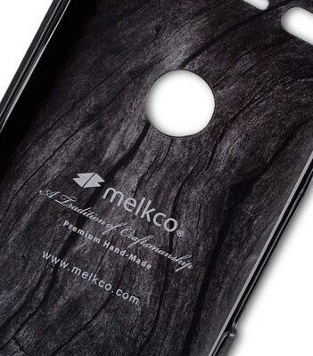 Melkco Premium Leather Snap Cover for Google Pixel (Vintage Black)