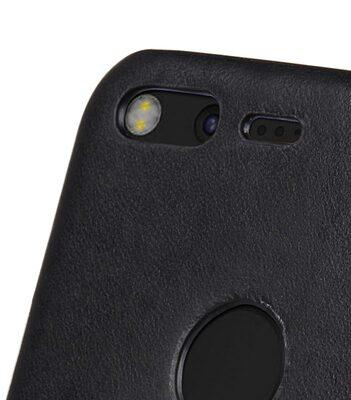 Melkco Premium Leather Snap Cover for Google Pixel XL (Vintage Black)