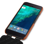 Melkco Premium Leather Case for Google Pixel - Jacka Type (Brown)