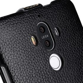 Melkco Jacka Series Lai Chee Pattern Premium Leather Jacka Type Case for Huawei Mate 9 – ( Black LC )