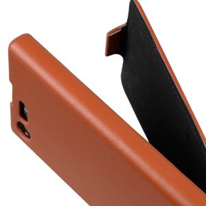 Melkco Premium Leather Case for Sony Xperia X Compact - Jacka Type (Brown)