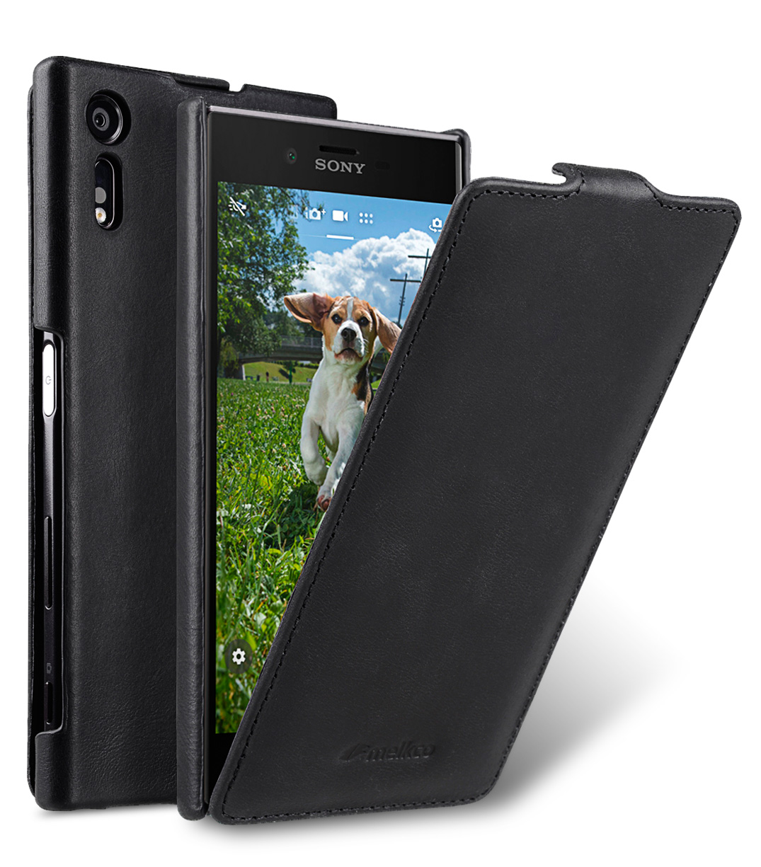 the best attitude f825b a9c92 Premium Leather Case for Sony Xperia XZ - Jacka Type