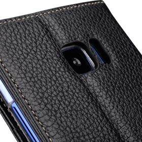 Melkco Premium Leather Case for HTC U Ultra – Wallet Book Clear Type Stand ( Black LC )