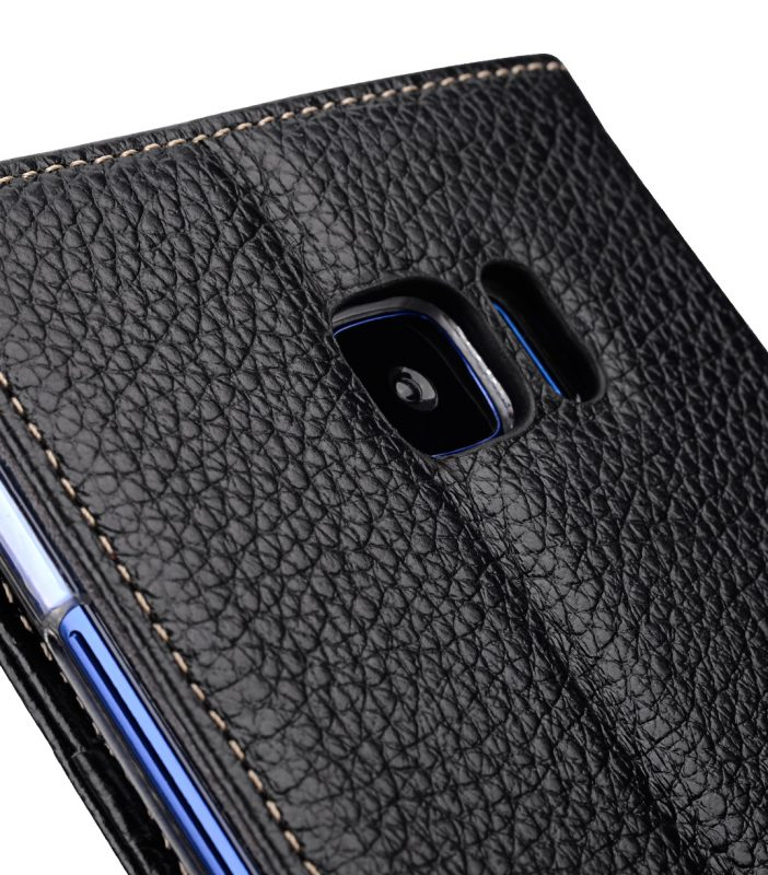 Melkco Premium Leather Case for HTC U Ultra - Wallet Book Clear Type Stand ( Black LC )