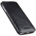 Melkco Premium Leather Cases for Samsung Galaxy S6 Edge - Jacka Type (Black LC)