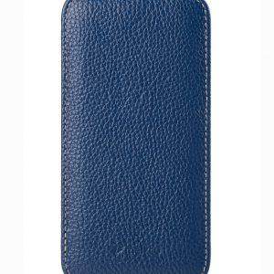 Melkco Premium Leather Cases for Samsung Galaxy S6 Edge - Jacka Type (Dark Blue LC)