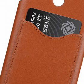 Melkco Premium Leather Card Slot Back Cover Case for LG G7 ThinQ / G7 Plus ThinQ – (Brown CH) Ver.2