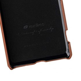 Melkco Premium Leather Snap Cover Case for Sony Xperia XZ2 – (Brown CH)