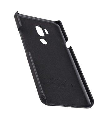 Melkco Premium Leather Card Slot Back Cover Case for LG G7 ThinQ / G7 Plus ThinQ - (Black) Ver.2