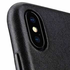 Melkco Elite Series Premium Leather Coaming Pocket Case for Apple iPhone X – (Black)