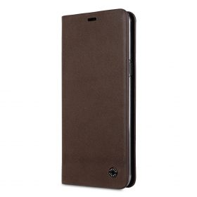 Melkco Fashion Cocktail Series Premium Leather Slim Flip Type Case for Samsung Galaxy S9 – ( Brown )