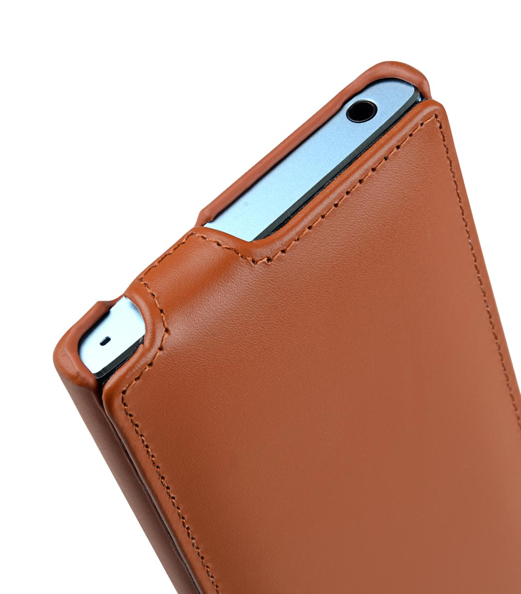 Melkco Premium Leather Case for Sony Xperia XA2 - Jacka Type (Brown CH)
