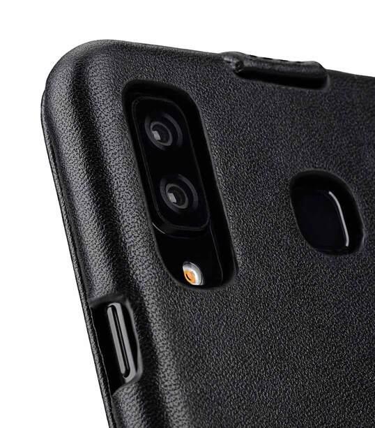 half off 2e760 e6e11 Premium Leather Case for Samsung Galaxy A8 Star / A9 Star - Jacka Type  (Black)