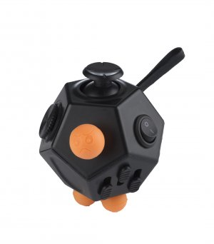Melkco Planet Fidget Crystal - (Black)