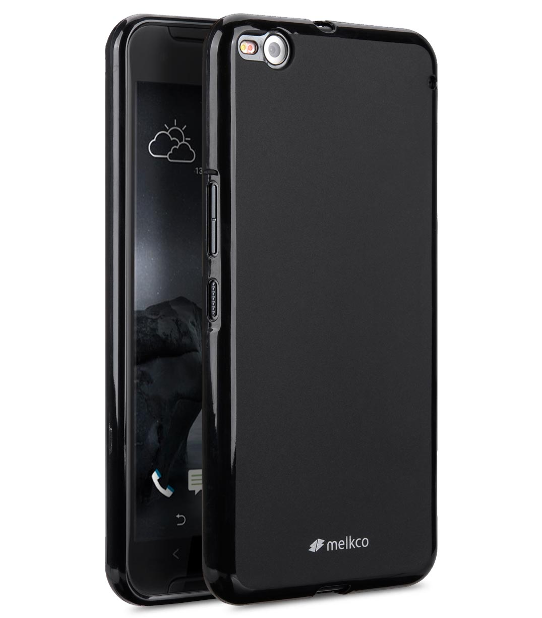 Melkco - Poly Jacket TPU (Ver.2) cases for HTC One X9 - (Black Mat)