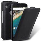 Melkco Premium Genuine Leather Case For LG Nexus 5X – Jacka Type (Traditional Vintage Black)