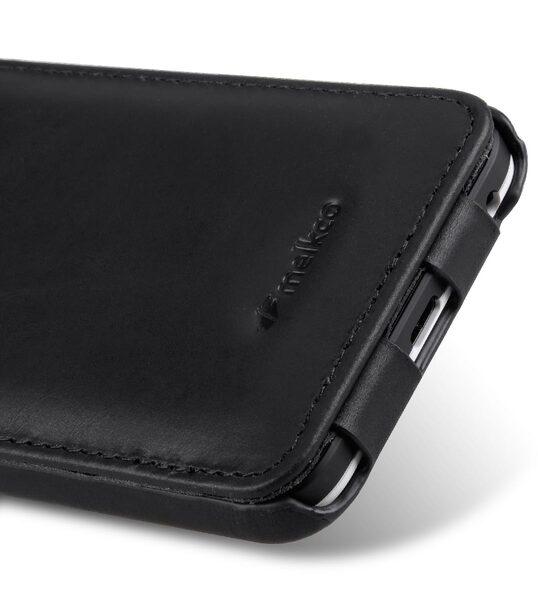 Melkco Premium Genuine Leather Case For LG Nexus 5X - Jacka Type (Traditional Vintage Black)