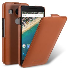 Melkco Premium Genuine Leather Case For LG Nexus 5X – Jacka Type (Traditional Vintage Brown)