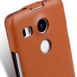 Melkco Premium Genuine Leather Case For LG Nexus 5X - Jacka Type (Traditional Vintage Brown)