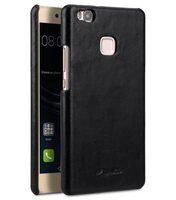 Melkco Premium Genuine Leather Snap Back Cover for Huawei P9 Lite (Vintage Black)