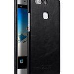 Melkco Premium Genuine Leather Snap Back Cover for Huawei P9 Plus (Vintage Black)