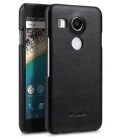 Melkco Premium Genuine Leather Snap Cover Case For LG Nexus 5X (Traditional Vintage Black)