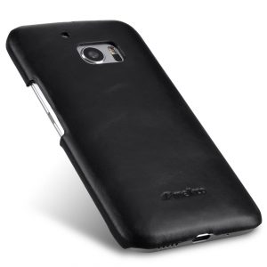 Melkco Premium Genuine Leather Snap Cover For HTC One M10 (Traditional Vintage Black)