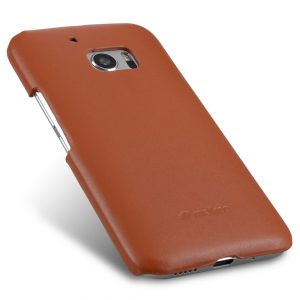 Melkco Premium Genuine Leather Snap Cover For HTC One M10 (Traditional Vintage Brown)
