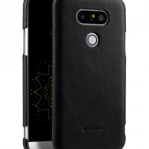 Melkco Premium Genuine Leather Snap Cover For LG G5 (Traditional Vintage Black)