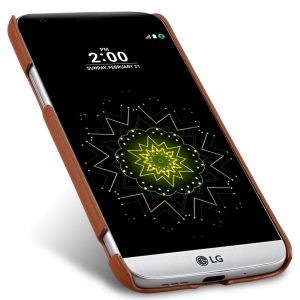 Melkco Premium Genuine Leather Snap Cover For LG G5 (Traditional Vintage Brown)