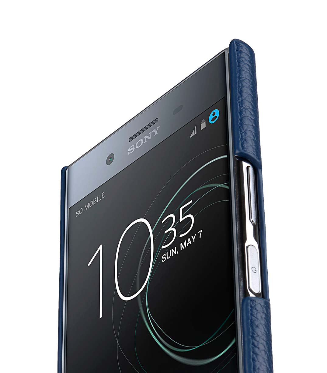 best service 8f975 9c6f4 Premium Leather Card Slot Back Cover for Sony Xperia XZ Premium