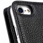 "Melkco Premium Leather Case for Apple iPhone 7 /8(4.7"") – Wallet Plus Book Type (Black LC)"