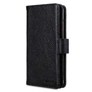 "Melkco Premium Leather Case for Apple iPhone 7 Plus (5.5"") - Wallet Plus Book Type (Black LC)"