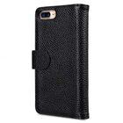 "Melkco Premium Leather Case for Apple iPhone 7 Plus (5.5"") – Wallet Plus Book Type (Black LC)"