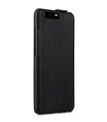 Melkco Premium Leather Case for Huawei P10 - Jacka Type ( Vintage Black )