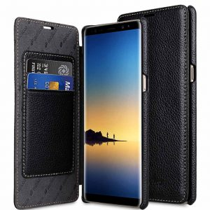 Premium Leather Case for Samsung Galaxy Note 8 - Face Cover Book Type