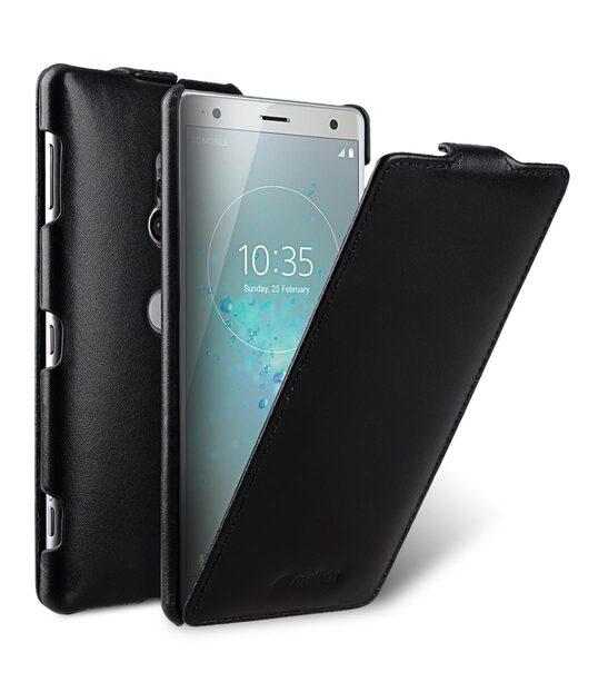 Melkco Premium Leather Case for Sony Xperia XZ2 - Jacka Type (Black)