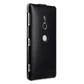 Melkco Premium Leather Case for Sony Xperia XZ2 – Jacka Type (Black)