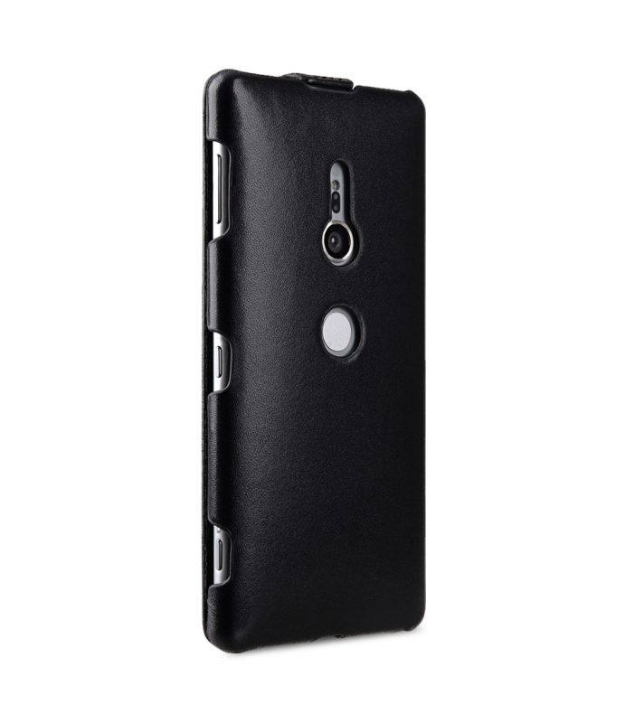 Melkco Premium Leather Case for Sony Xperia XZ2 - Jacka Type (Black)