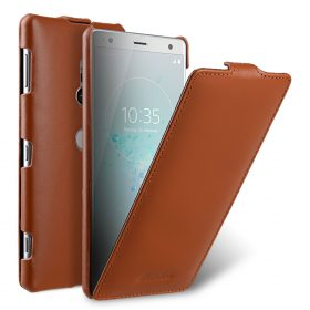 Premium Leather Case for Sony Xperia XZ2 - Jacka Type