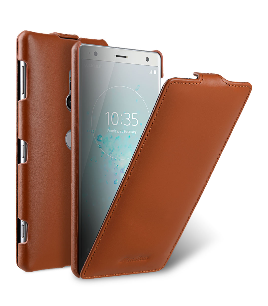 Premium Leather Case for Sony Xperia XZ2 - Jacka Type