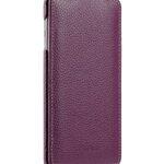 Melkco Premium Leather Cases for Samsung Galaxy S6 Edge - Jacka Type (Purple LC)