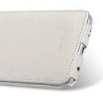 Melkco Premium Leather Cases for Samsung Galaxy S6 Edge - Jacka Type (White LC)