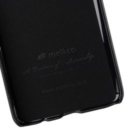 Melkco PU Leather Dual Card Slots Back Cover Case for Samsung Galaxy S9 – (Black)