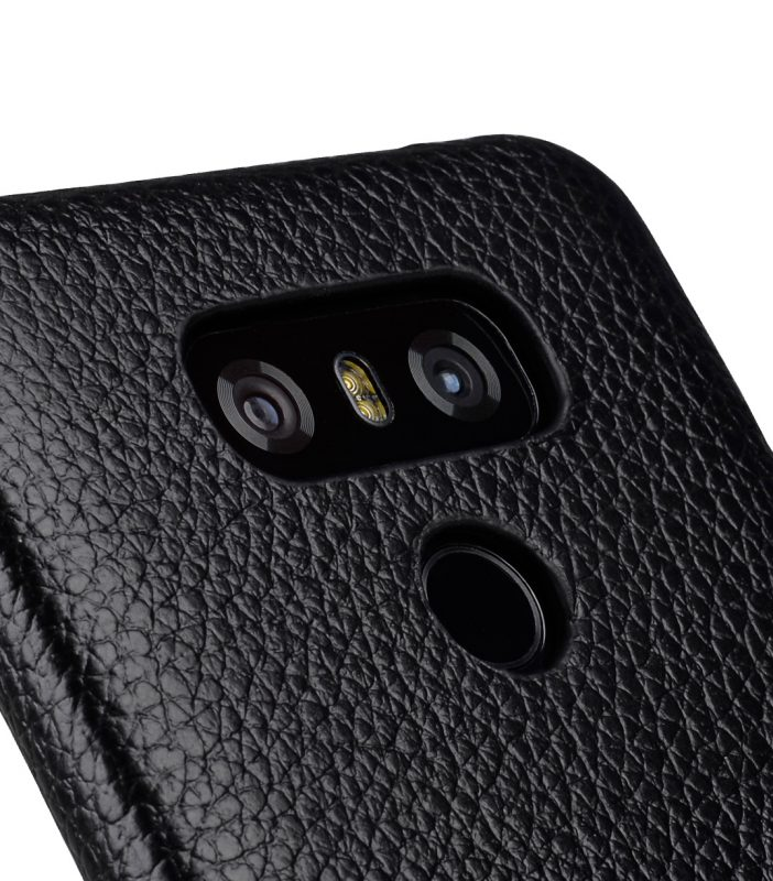 Melkco Premium Leather Card Slot Back Cover V2 for LG G6 - ( Black LC )