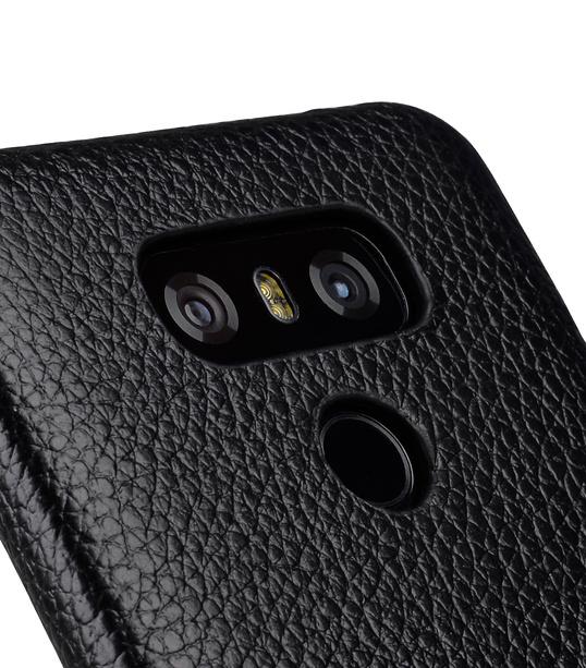 Melkco Premium Leather Card Slot Back Cover V2 for LG G6 - ( Black LC )