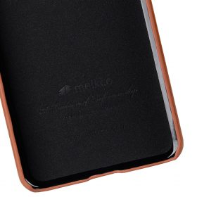Melkco Premium Leather Card Slot Back Cover V2 for LG G6 –  ( Brown )