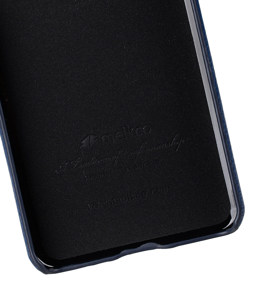 Melkco Premium Leather Card Slot Back Cover V2 for LG G6 - ( Dark Blue LC )