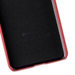Melkco Premium Leather Card Slot Back Cover V2 for LG G6 - ( Red LC )