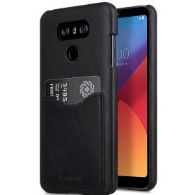Melkco Premium Leather Card Slot Back Cover V2 for LG G6 –  ( Vintage Black )